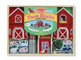 Farm Blocks Playset, 36 pieces
