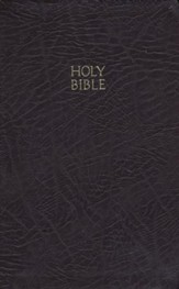 KJV Reference Bible, Bonded leather burgundy