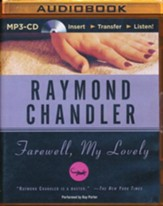 Farewell My Lovely - unabridged audio book on MP3-CD