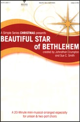 Beautiful Star of Bethlehem (Choral Book)