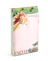Flights of Faith Three Layer Diecut Notepad