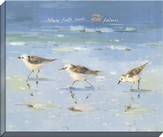 Where Faith Leads, Seagull Canvas Art, Hebrews 11:1