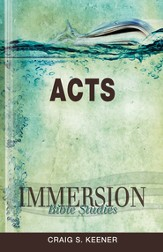 Immersion Bible Studies: Acts - eBook