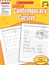 Scholastic Success with Contemporary Cursive, Grades 2-4