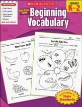 Scholastic Success with Beginning Vocabulary