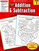 Scholastic Success with Addition & Subtraction, Grade 1