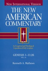 Genesis 1-11:26, New American Commentary  - Slightly Imperfect