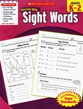 Scholastic Success with Sight Words