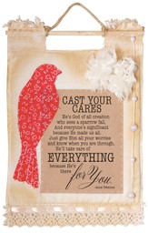 Cast Your Cares Wallhanging