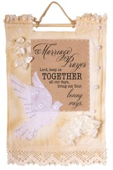 Marriage Prayer Wallhanging