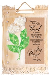 May Every Good Word Wallhanging