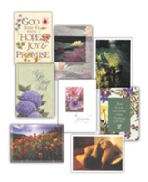 Encouragement Cards Set - Set of 16; 8 designs, 2 each