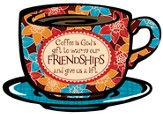 Coffee Is Gods Gift Plaque