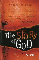 NIV The Story of God Gospel of John--softcover, orange