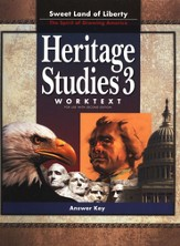 BJU Heritage Studies Grade 3 Student Worktext, Teacher's Edition  (Second Edition)