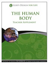 God's Design for Life: The Human Body Teacher Supplement (Book & CD-Rom) - Slightly Imperfect