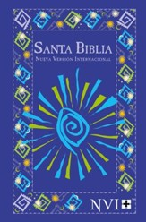 NVI Outreach Bible, Blue Fiesta