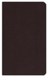 KJV Ultraslim Bible Burgundy Bonded Leather