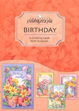 Wishing You Joy Birthday Cards, Box of 12