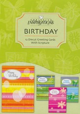 Bright Birthday Wishes Birthday Cards, Box of 12