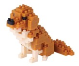 Nanoblock Mini, Golden Retriever