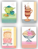 Sweet Indulgences Birthday Cards, Box of 12