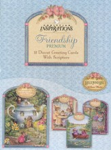 Tea Cups & Friends Friendship Cards, Box of 12