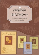 In His Hands Birthday Cards, Box of 12