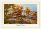 Days Gone By Birthday Cards, Box of 12