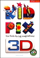 Kid Pix Deluxe 3D on CD-Rom (for Windows)