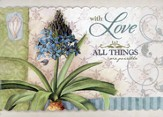 Coastal Garden Encouragement Cards, Box of 12