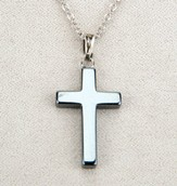 Cross Pendant, Hematite
