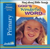 God's Wonderful Word Primary (grades 1-2) Audio CD (Spring Quarter)