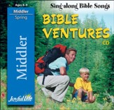 Bible Ventures Middler (grades 3-4) Audio CD (Spring  Quarter)