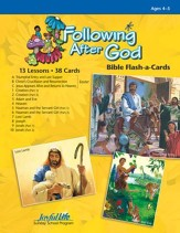 Following after God Beginner (ages 4 & 5) Bible Stories (Spring Quarter)