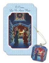 At the Creche Christmas Cards, Box of 16