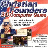 Christian Founders 3D Computer Game on CDROM
