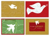Doves of Peace Christmas Cards, Box of 12