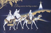 Led By a Star Christmas Cards, Box of 16