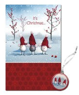 Winter Birds Christmas Cards, Box of 16