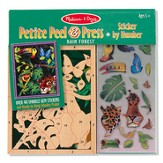 Rain Forest, Petite Peel & Press Sticker by Number