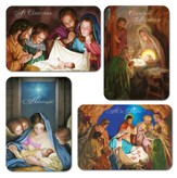 Scenes From the Nativity Christmas Cards, Box of 12