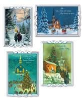Headed to Church Christmas Cards, Box of 12