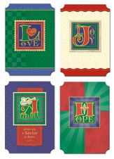 His Words Christmas Cards, Box of 12