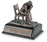 Praying Woman Sculpture, Small