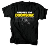 Prepped For Doomsday Shirt, Black, Large