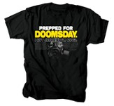 Prepped For Doomsday Shirt, Black, XX-Large