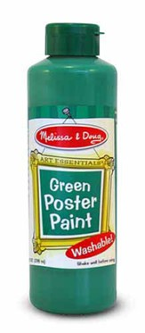 Green Poster Paint, 8 oz.