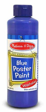 Blue Poster Paint, 8 oz.