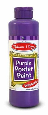 Purple Poster Paint, 8 oz.